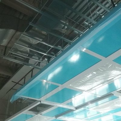 Facility Expansion Ceiling